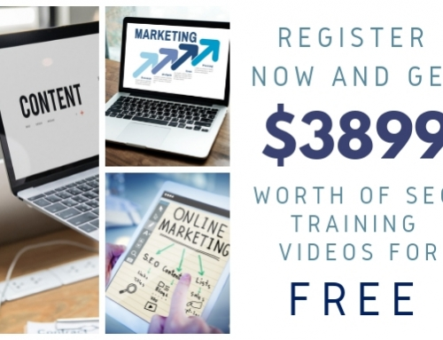 Get 100% FREE $3899 Worth of SEO Video Courses Now!